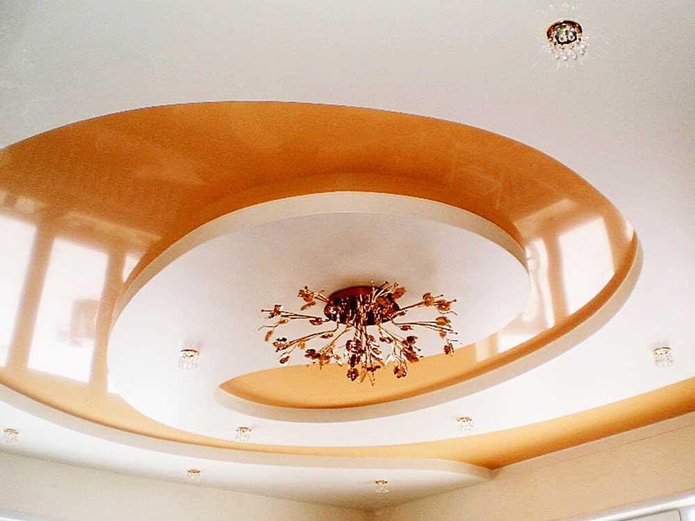 Двухуровневый немецкий потолок