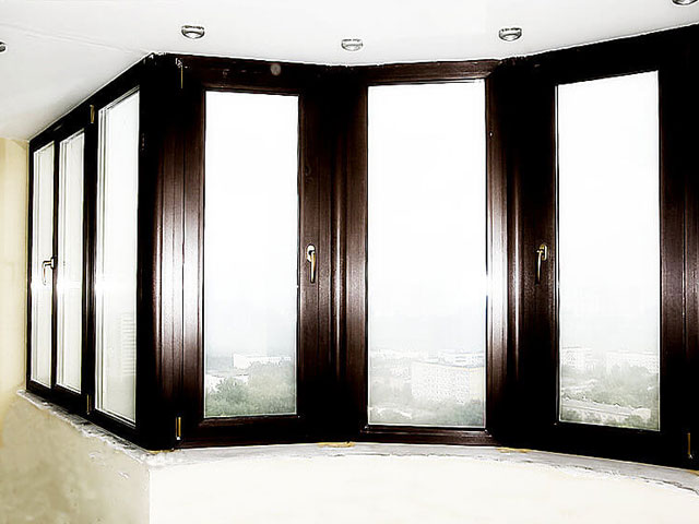 Ламинированные окна decco