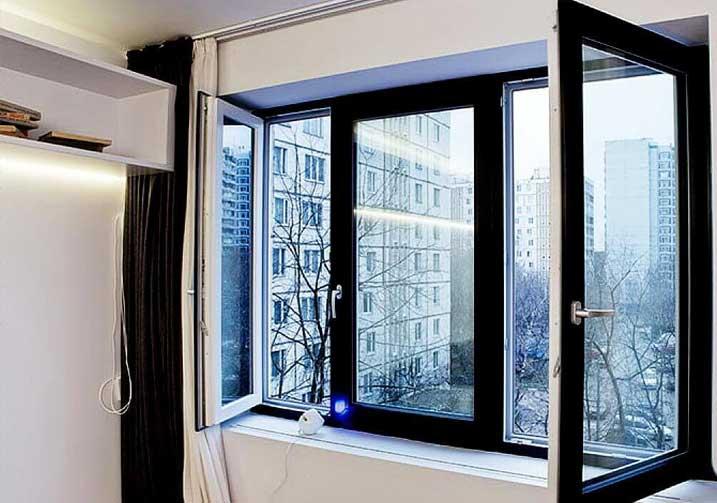 Односторонняя ламинация окна