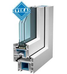 Пластиковые ПВХ окна VEKA